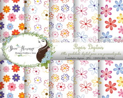Papel Digital Floral Papers 7