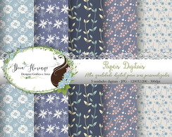Papel Digital Floral Papers 8
