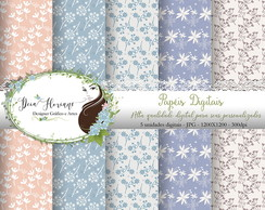 Papel Digital Floral Papers 9
