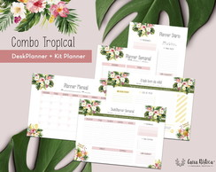 Planner Tropical Summer | COMBO