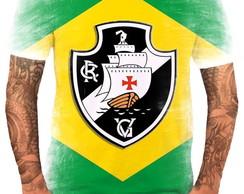 4af0616b81 Camisa Camiseta Personalizada Time de Futebol Vasco 1