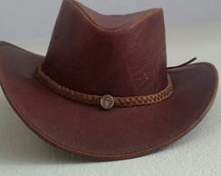 ... Chapéu country infantil australiano couro legítimo promoção b80019556ad
