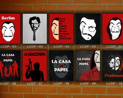 Placa Decor Vintage La Casa de Papel