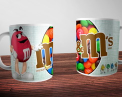 Caneca Chocolate M&M
