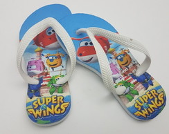 Chinelo Infantil personalizado Super Wings