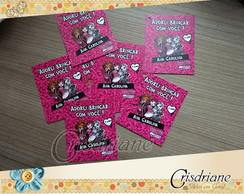 Tag de lembrança monster high