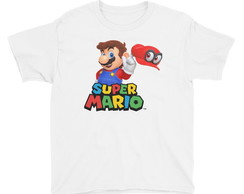 Camiseta Infantil /body Super Mario