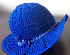 ... Chapéu infantil de crochê 8d8294a0bfc
