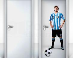 05622bf8eb ... Adesivo para Porta – Lionel Messi