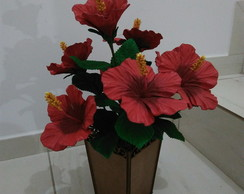 Arranjo de Hibisco