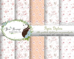 Papel Digital Floral Papers 12