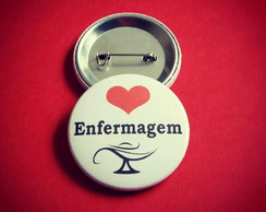 Kit (30) buttons: Enfermagem