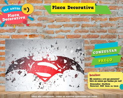 Placa Decorativa - Herois - REF321