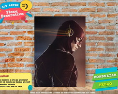 Placa Decorativa - Herois - The Flash - REF363