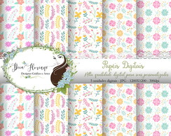 Papel Digital Floral Papers 11