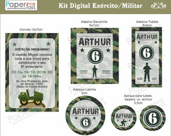 Exército/Militar - KIT DIGITAL