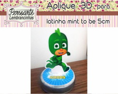 Aplique 3D para latinha mint to be 5cm