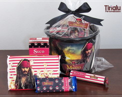 Kit Cinema Luxo Piratas do Caribe