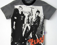 The Clash - Primeiro Album - Camiseta Infantil