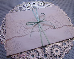 Envelope de Papel Rendado