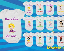 BODY MESVERSARIO PRINCESAS DISNEY CUTE KIT 12UND BODIE,BODI