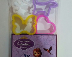 Kit Massinha com 4 moldes Princesa Sofia