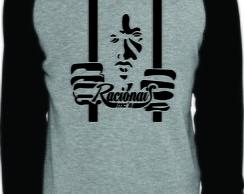 061387f7a412c Camiseta Raglan Manga Longa Hurley no Elo7