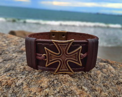 Pulseira SHARK Bracelet Cruz Malta Old