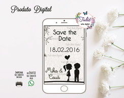 Save the Date Noivado