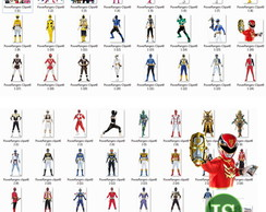 Kit Digital Scrapbook Power Ranger