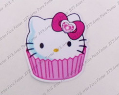 Aplique com 4,0 cm - Hello Kitty