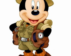 Retrospectiva Animada Tema Mickey Safari
