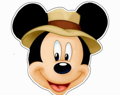 Convite Virtual Animado Tema Mickey Safari