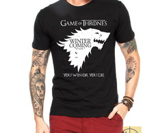 Camisa, Camiseta Targaryen Game Of Thrones House Stark