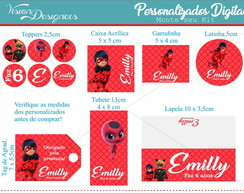 Kit Personalizado Digital - Miraculous