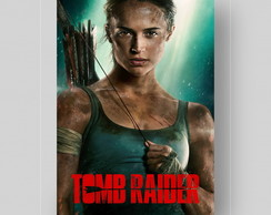 PLACA DECORATIVA PVC-LARA CROFT,TOMB RAIDER