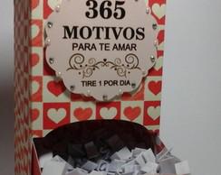 365 Motivos Para Te Amar Elo7