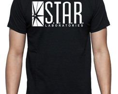 Camiseta Laboratórios Star (Star Laboratories) Seriado Flash