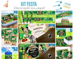 Kit Festa Mickey Safari 2