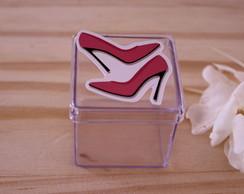 7fbaa15f9 ... Caixinha de acrílico - moda - sapato salto alto