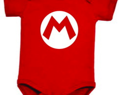 Body bebe menino do Super Mario