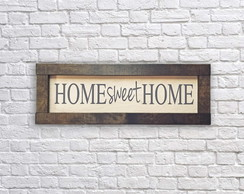 Quadro HOME sweet HOME - 10%OFF