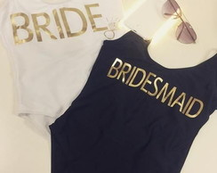 Body Maiô BRIDE / BRIDESMAID