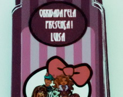 Tag de Agradecimento Monster High