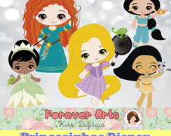 Kit Digital Princesinhas Disney