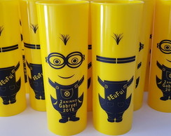 COPO LONG DRINK 330 ml MINIONS