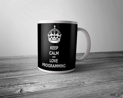 Caneca Keep Calm Programador