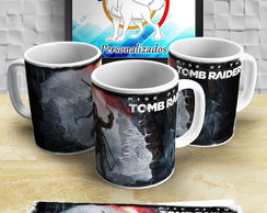 Caneca do Tomb Raider
