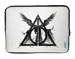 2 Capas para Notebook Harry Potter - Relíquias da Morte