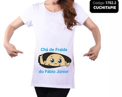 Camiseta Chá de Fralda - Cha´do Fábio Jr.